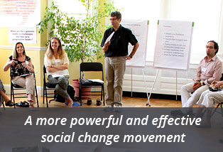 A more powerful and effective social change movement