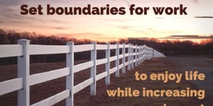 Boundaries for work v2